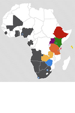 Source IBA Have The East African Continent Coloured Literally
